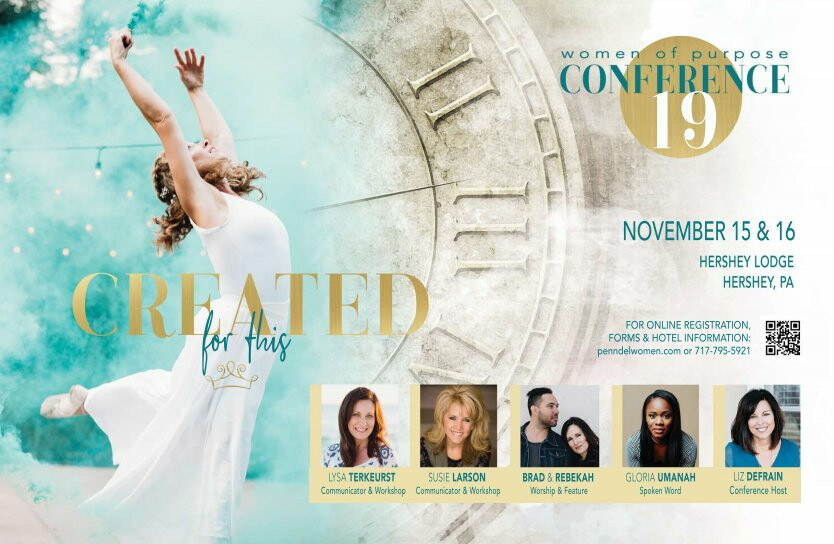 """Created for This"" Women's Conference 2019"