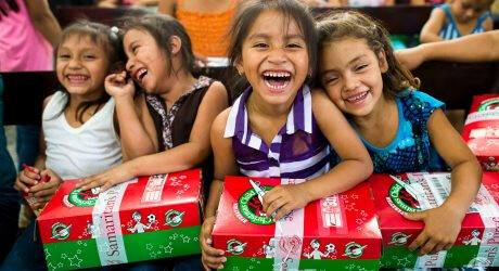 Operation Christmas Child at CCC!